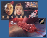 Red Dwarf Commemorative Stamp Covers & Sheets
