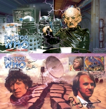Classic Doctor Who Commemorative Stamp Covers