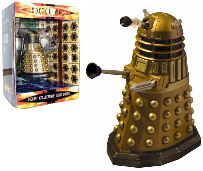 Doctor Who Gold Dalek Diecast Figure
