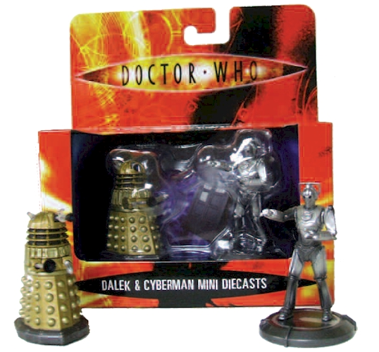 2 Pack Doctor Who Mini Diecast Figures