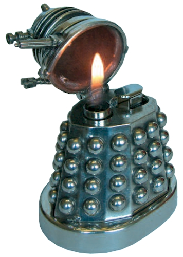 Doctor Who Dalek Pewter Table Lighter Scificollector
