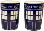 Doctor Who Tardis Design Salt & Pepper Cruet Set