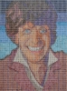 Doctor Who Mosaic Tom Baker Dual Signed
