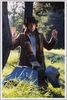 Tom Baker signed 'Lost Cache' Photo A