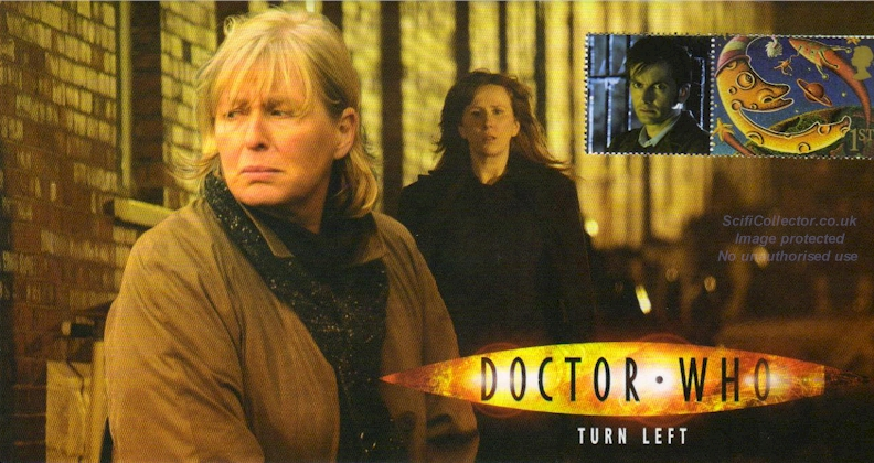 Doctor Who Stamp Cover Episode 11 - Turn Left