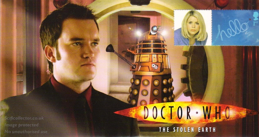 Doctor Who Stamp Cover Episode 12 - The Stolen Earth
