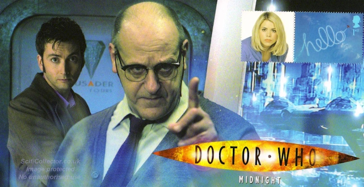 Doctor Who Stamp Cover Episode 10 - Midnight