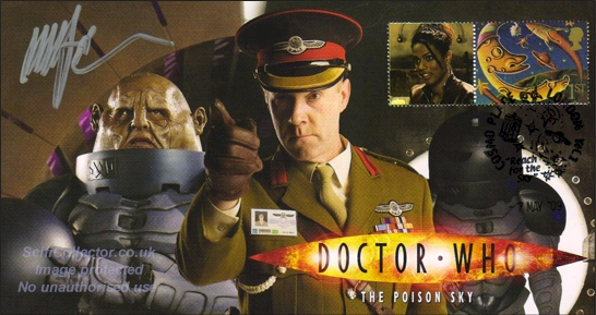 Doctor Who Stamp Cover Episode 5 - The Poison Sky
