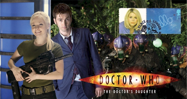Doctor Who Stamp Cover Episode 6 - The Doctor's Daughter