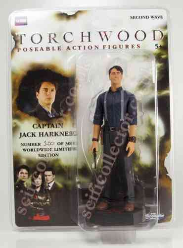 Torchwood Action Figure - Captain Jack SDCC Limited Edition