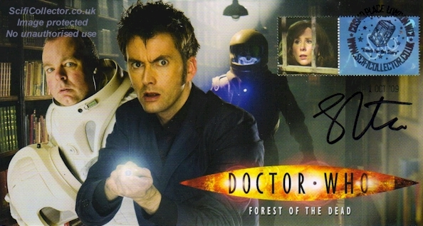 Doctor Who Stamp Cover Episode 9 - The Forest of the Dead