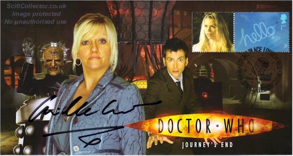 Doctor Who Stamp Cover Episode 13 - Journey's End