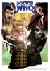 Doctor Who 'The Day of the Daleks' A4 Art Print