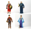 The Adventures of Merlin - All 4 Wave 1 Figures