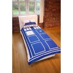 Doctor Who Tardis Single Duvet