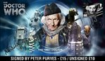 The First Doctor Who Official First Day Cover Signed by Peter Purves