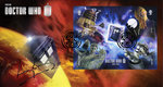 The Monsters Miniature Sheet Doctor Who Official First Day Cover Signed by Terry Molloy