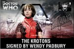 The Krotons First Day Stamp Cover Signed Wendy Padbury