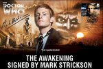 The Awakening First Day Stamp Cover Signed Mark Strickson