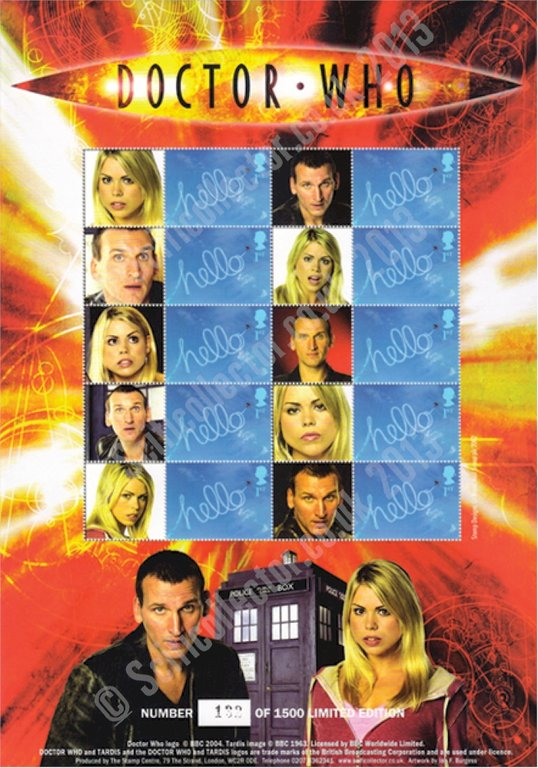 The Doctor & Rose Stamp Sheet