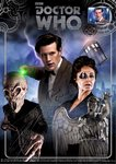Doctor Who 'Eleventh Doctor' A4 Art Print Signed by Frances Barber