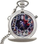 Doctor Who Eleven Doctors 50th Anniversary Fob Watch
