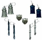 Official Doctor Who Earrings