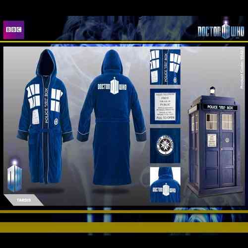 Official Tardis Adults Dressing Gown - Scificollector -Creators of ...