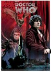 Doctor Who 'State of Decay' A4 Art Print Signed by Tom Baker