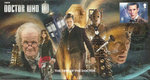 The Time of the Doctor Stamp Cover Unsigned
