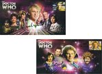 Doctor Who 50th Anniversary 5th & 6th Doctor 'Companions' Dual Signed Covers